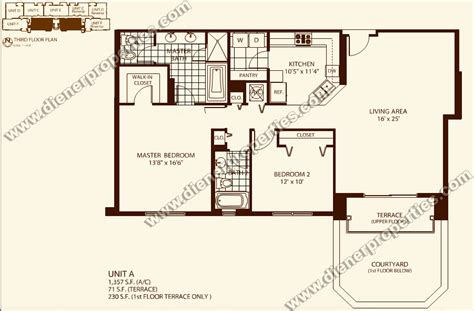 Condos Floor Plans | villa zamora coral gables condo floor plans