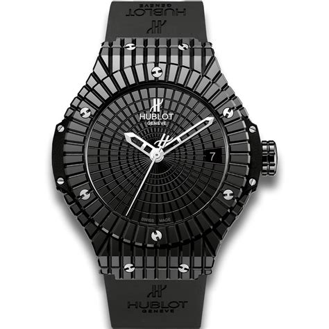 hublot black caviar big black ceramic automatic