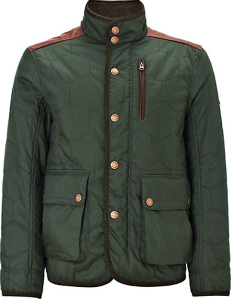 Rugged Mens Jacket by Timberland Timberland Rugged Quilted Jacket Green In Green