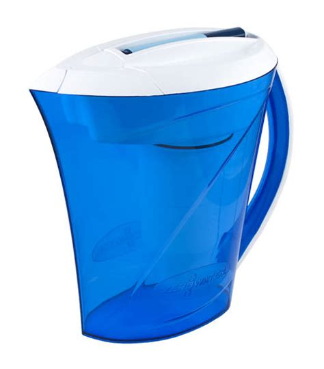 zero water pitcher drink more water with the zerowater ready pour pitcher