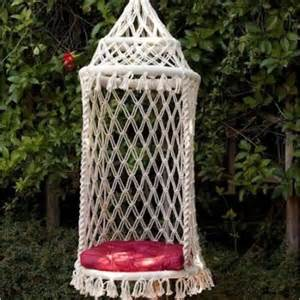 Hanging Birdcage Chair Hamacas Macram 233 Gorgorita