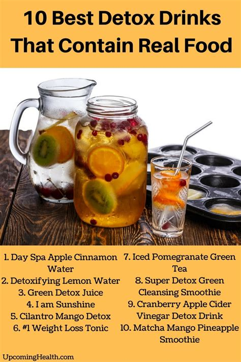 Best Detox Food For by 10 Top Detox Drinks That Contain Real Food