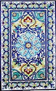mosaic wall murals hand painted mosaic murals mediterranean tile
