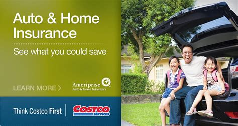 auto and home insurance for costco members ameriprise auto