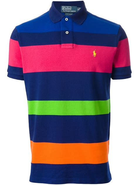 Stripe Polo by Ralph Striped Polo Shirt Dr E Horn Gmbh Dr E