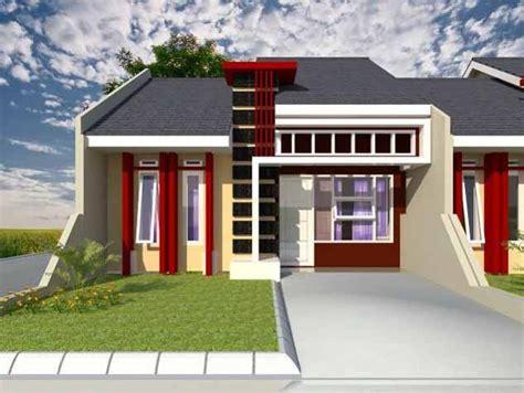 desain halaman depan rumah yang luas 20 contoh gambar desain rumah minimalis 1 lantai dan 2
