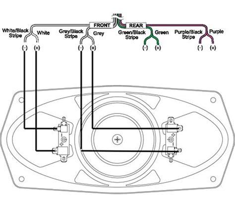 rockford fosgate speaker wiring diagram for lifier