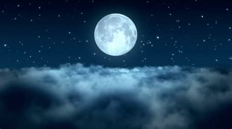 full moon zoom background video meeting template postermywall