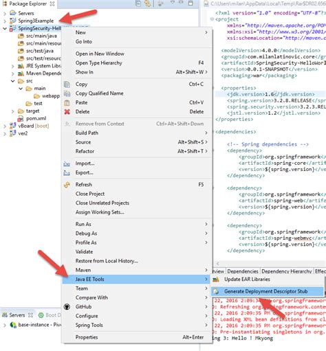 web xml eclipse web xml is missing and is set to true stack
