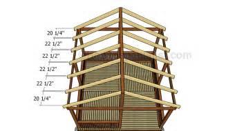 Galerry gazebo roof plan