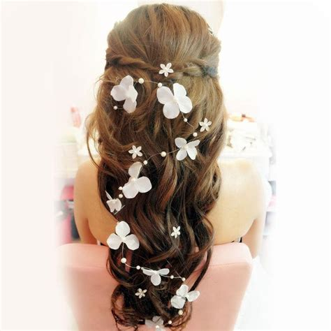 Butterfly Hair Accessories For Weddings by Stock 2015 Bridal Hair Accessories Handmade Butterfly