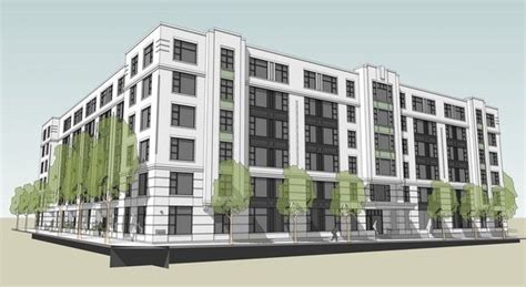 Apartment Modern Baseball Live Developer Robert Plans 177 Unit Pearl District