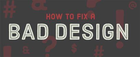 free bad design how to fix a bad design creative market