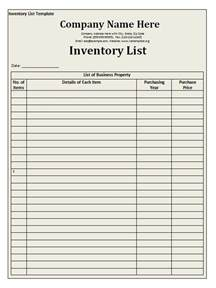 office equipment inventory template doc 585460 inventory list form bizdoska
