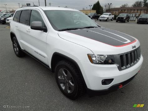 jeep trailhawk white bright white 2013 jeep grand trailhawk 4x4