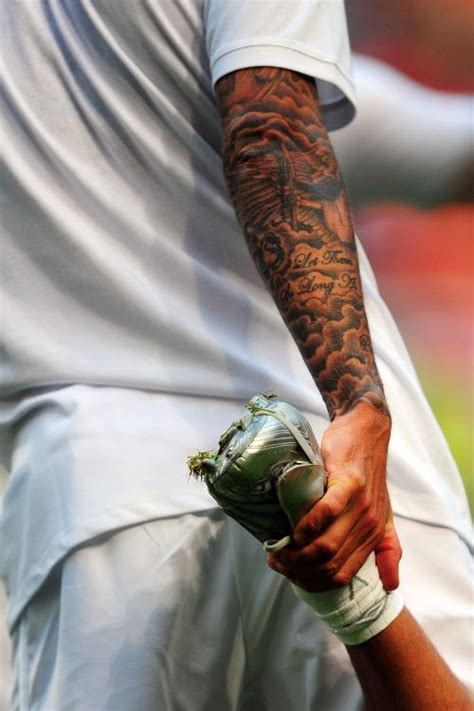 david beckhams obsession  tattoos explained