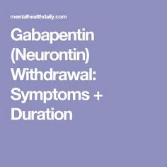 Which Is Best For Detox Withdrawal Lyrcia Or Gebapentin by Neurontin Withdrawal Brand Pharmacy