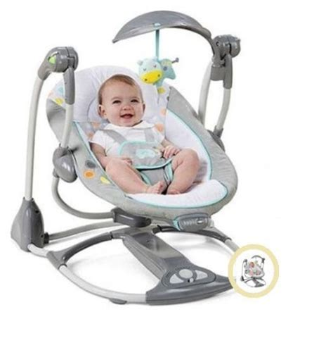 baby bouncy swing baby swing 2 seat infant toddler rocker chair little