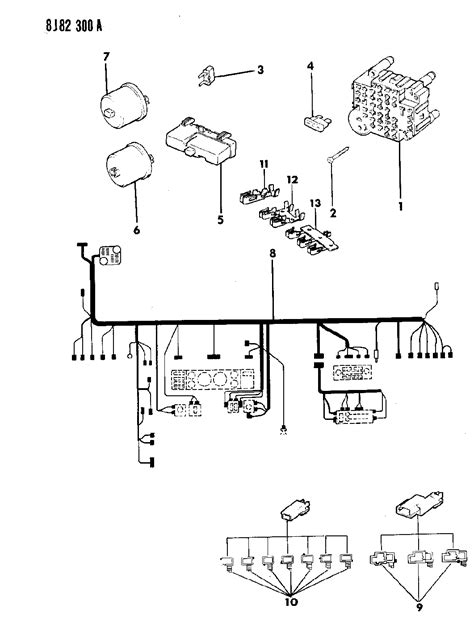 1995 jeep wrangler 4cyl fuse box with wiring diagrams