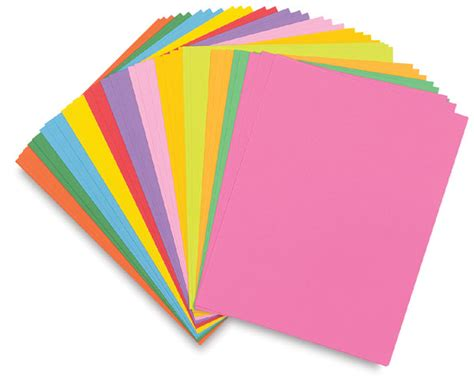 What To Make With Coloured Paper - hygloss bright sheets blick materials