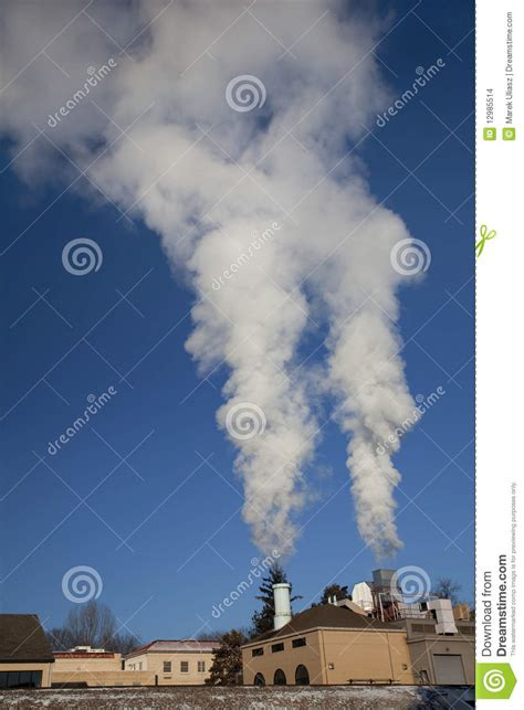 smoke and steam plume stock images image 12985514