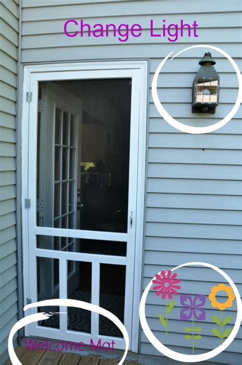How To Hang A Screen Door by How To Install A Screen Door Teeny Ideas