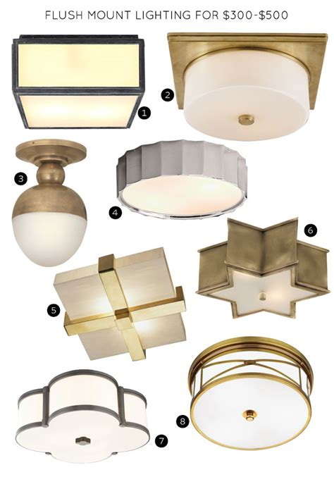 making it lovely the 30 best flush mount lighting fixtures making it lovely