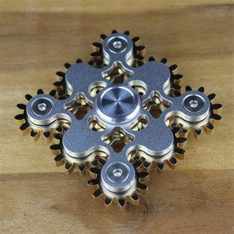 Spinner Fidget Nine Gear Premium Axis fidget spinner 9 lager getriebe spinner 35tlg weightless ch