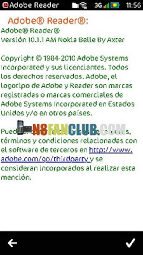 adobe reader x 10 1 1 free download full version adobe reader le 10 1 1 ported from nokia belle fp1 nokia