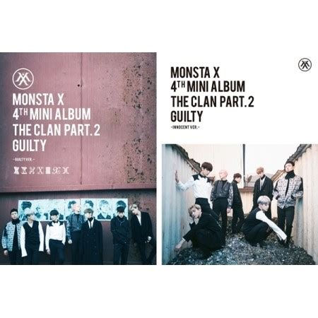 Monsta X The Clan 2 5 Part 2 monsta x the clan 2 5 part 2 guilty 4th mini album kmall24