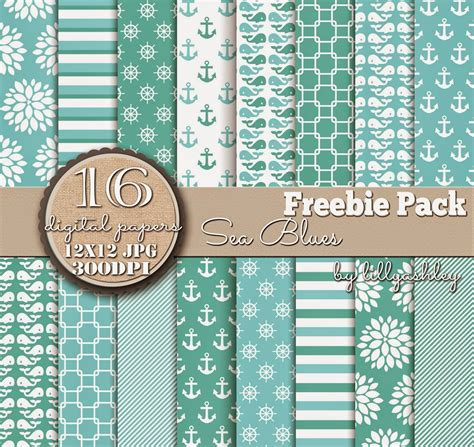 printable paper pack make it create by lillyashley freebie downloads freebie
