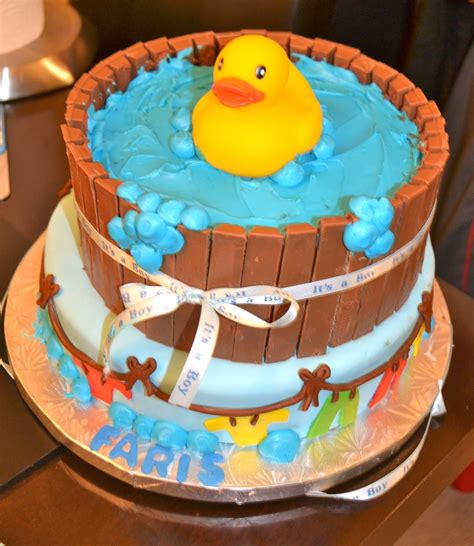 Duck Rubber Ducky Baby Shower Cakes by Rubber Ducky Baby Shower Cake Cakecentral