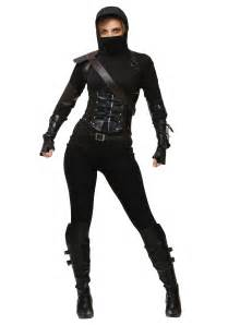 Women s ninja assassin costume