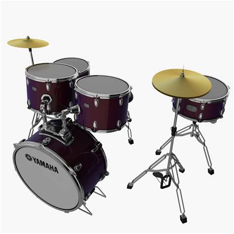 Kaos 3d Umakuka Drum Set 3d drum kit