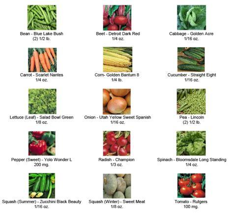 types of garden plants survival seed bank endless garden
