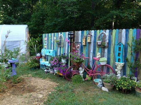 funky garden fence panels funky junk outdoor livin