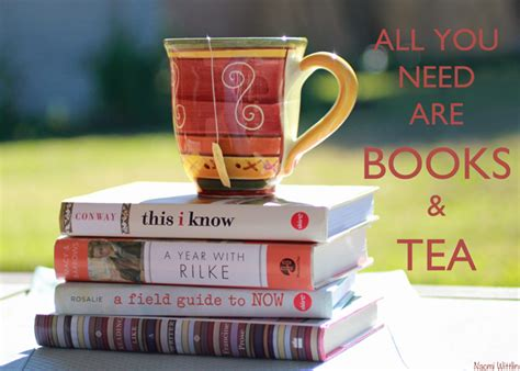 the book of tea books all you need are books and tea