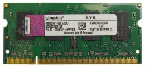 kingston gb  pin ddr  dimm ddr  pc  laptop memory model kvr