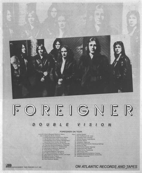 Foreigner Vision foreigner vision