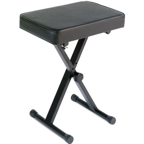 x bench stool yamaha pkbb1 x style fold up keyboard bench pkbb1 b h photo