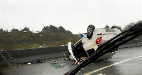 le t233l233gramme lorient rn 165 trois accidents quatre