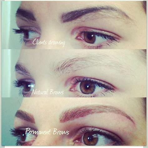 eyebrows tattooed    day