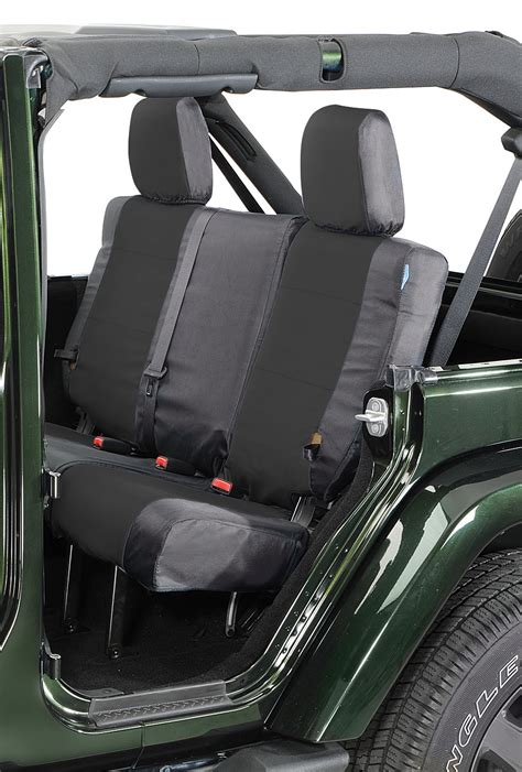 Seat Covers Jeep Wrangler Coverking Rear Ballistic Seat Covers For 08 10 Jeep