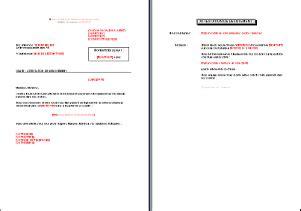 lettre de d 233 sistement pour ch 232 que non re 231 u fr