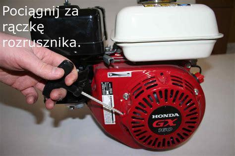 Kompresor Honda Gx 160 uruchomienie silnika honda wersja bardzo skr 243 cona porady grizliporady grizli