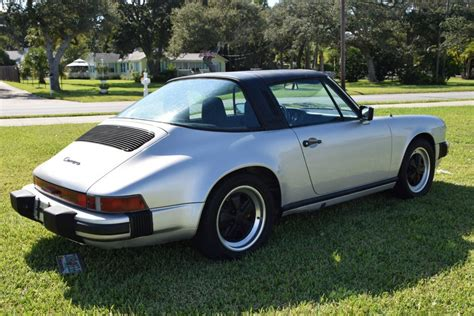 fuchs porsche wheels for sale 1984 porsche 911 targa silver black fuchs rims for