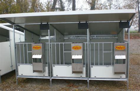 gabbie per vitelli box per vitelli strutture metalliche e attrezzature