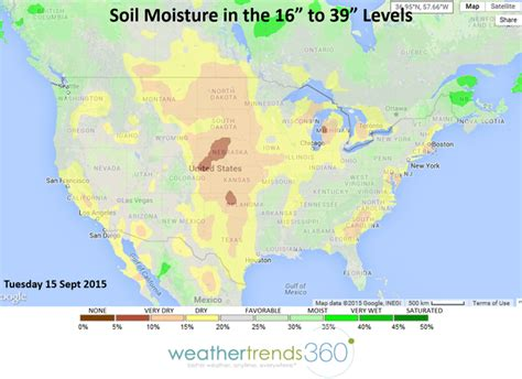 us soil moisture map weather channel what lies below your crop is not a but scary