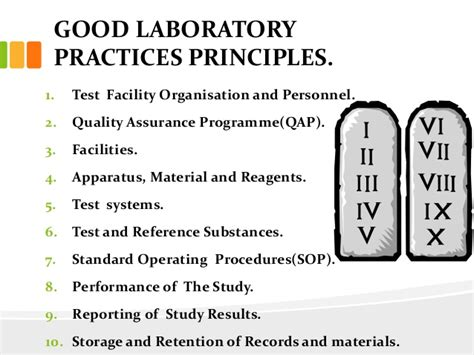 acts laboratory for performance practices good laboratory practices ppt