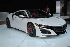the of a supercar acura and honda nsx